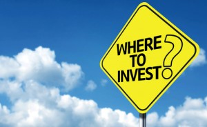Where to Invest sign